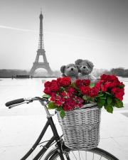 """Набор алмазной вышивки """"Мишки и букет роз в Париже"""""""