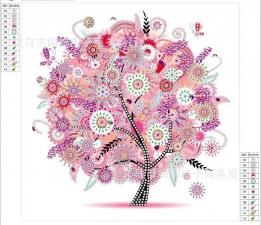 """Набор алмазной вышивки """"Дерево богатства. Осень"""""""
