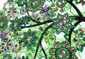 """Набор алмазной вышивки """"Дерево богатства. Весна"""""""