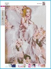 """Набор алмазной мозаики  """"Фея цветов полная выкладка"""""""