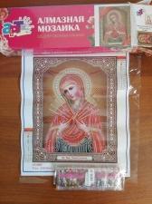 """Набор алмазной вышивки """"Пр.Богородица Семистрельная"""""""