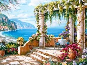 "Набор алмазной мозаики ""Арка. Море"""