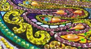 """Набор алмазной вышивки """"Бабочка на счастье"""""""