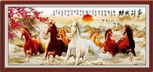 """Набор алмазной мозаики """"Лошади счастья"""""""