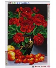 """Набор алмазной мозаики """"Шикарные розы. Натюрморт"""""""