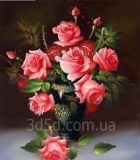 """Набор алмазной мозаики """"Розы"""""""