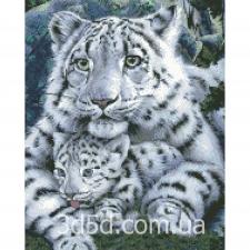 """Набор алмазной мозаики """"Бенгальские тигры"""""""