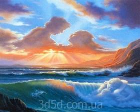 """Набор алмазной мозаики """"Море любви"""""""