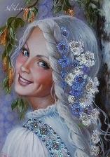 """Набор алмазной мозаики """"Леля - дочь Лады"""""""