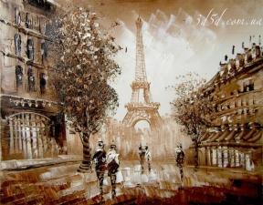 "Набор алмазной мозаики ""Улочки Парижа"""