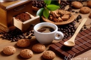 """Набор алмазной мозаики """"Кофе с шоколадом"""""""