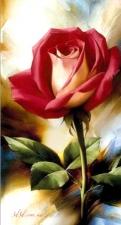 """Набор алмазной мозаики """"Красная роза"""""""