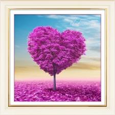 """Набор алмазной вышивки """"Дерево любви"""""""