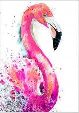 """Набор алмазной мозаики """"Розовый фламинго"""""""