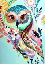 """Набор алмазной мозаики """"Радостная сова"""""""