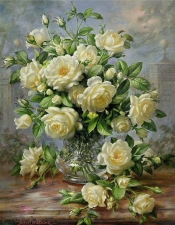 """Набор алмазной мозаики """"Розы принцессы Дианы., худ.Albert Williams"""""""