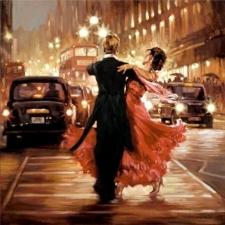 """Набор алмазной вышивки """"Танец, худ. Mark Spain"""""""