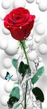 """Набор алмазной мозаики """"Роза в брызгах воды"""""""