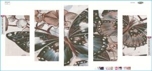 """Набор алмазной мозаики """"Бабочки"""""""