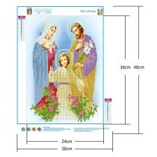 """Набор алмазной вышивки """"Святое семейство"""""""