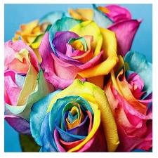 """Набор алмазной мозаики """"Розы для хорошего настроения"""""""