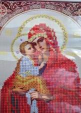 """Набор алмазной вышивки """"Почаевская Пресвятая Богородица акриловые стразы"""""""