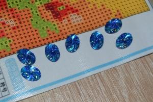 """Набор алмазной мозаики """"Маки с бусинами"""""""