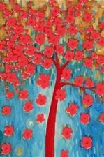 """Набор алмазной мозаики """"Цветущее дерево"""""""
