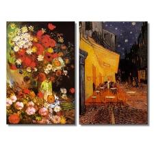 """Набор алмазной мозаики """"Ночная терраса. Кафе. Худ Ван Гог"""""""