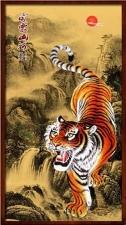 """Набор алмазной вышивки """"Южно-китайский тигр Амой"""""""