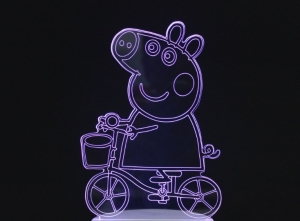 3D ночник Свинка Пеппа