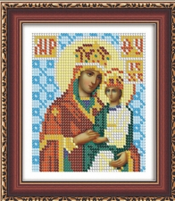 """Набор алмазной мозаики """"Икона Божией Матери Споручница Грешных"""""""
