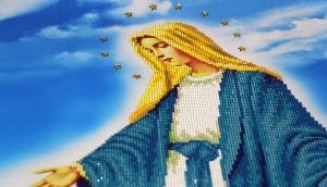 """Набор алмазной мозаики """"Дева Мария в молитве"""""""
