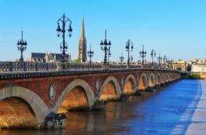 """Набор алмазной мозаики """"Франция. Мост Понт де Пьер"""""""
