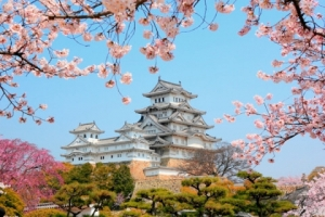 """Набор алмазной мозаики """"Япония. Замок белой цапли"""""""