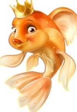 """Набор алмазной вышивки """"Золотая рыбка"""""""
