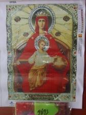 """Набор алмазной мозаики """"Образ Пресвятой Богородицы Державная"""""""
