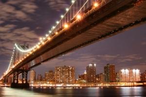 """Набор алмазной мозаики """"Манхэттенский мост"""""""