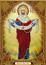 """Набор алмазной вышивки """"Икона Покров Пресвятой Богородицы"""""""