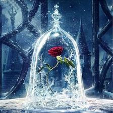 """Набор алмазной вышивки """"Роза в хрустале"""""""
