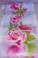 "Набор алмазной вышивка ""Розовая роза частичная выкладка"""