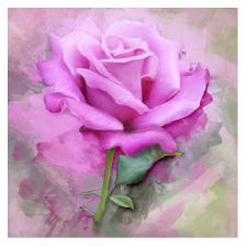 """Набор алмазной мозаики """"Розовая роза"""""""