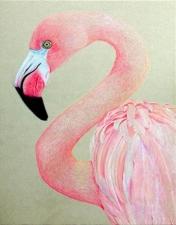 """Набор алмазной вышивки """"Розовый фламинго"""""""