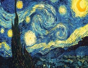 """Набор алмазной вышивки """"Ван Гог. Звездная ночь"""""""