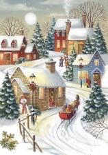 """Набор алмазной мозаики """"Зима. Рождество"""""""