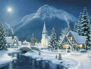 """Набор алмазной вышивки """"Светлого Рождества"""""""