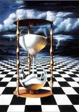 """Набор алмазной вышивки """"Песочные часы - символ хранения времени"""""""