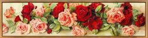 """Набор алмазной мозаики """"розовые и красные розы"""""""