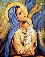 """Набор алмазной мозаики """"В молитве за малыша"""""""