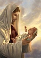"""Набор алмазной мозаики """"Иисус с младенцем. Благословение"""""""